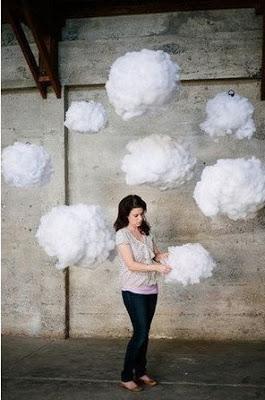 Декор для фотосесии: пушистые облака своими руками