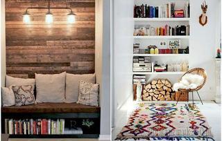 15 уютных примеров того, как обустроить место для чтения