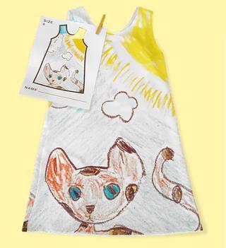 Платья по детским рисункам: позвольте детям почувствовать себя дизайнерами!