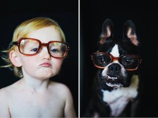 Всё на двоих: 14 забавных снимков маленькой девочки и её любимого пса