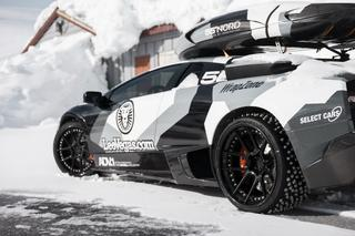 Джон Олcсон покорил норвежскую гору на Lamborghini Murcielago