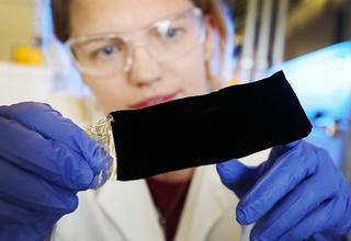 Самый черный материал - Vantablack