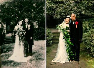 Эти пары воссоздали свои фотографии и доказали, что любовь — это навсегда