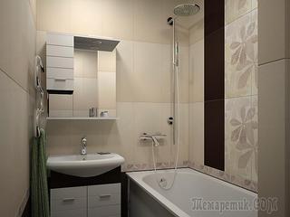 Дизайн небольшой ванной: как использовать пространство и 80+ функционально продуманных интерьеров