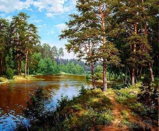 Художник - пейзажист Сергей Басов