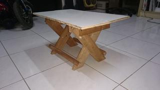 Как сделать складной многофункциональный столик