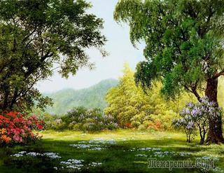 Корейская живопись. Кан Джон Хо – Kang Jung Ho (강정호) (реализм). Часть 1 из 3