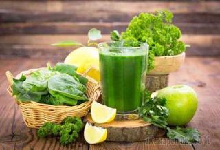Витаминный смузи за 2 минуты ♥ Зелёный коктейль для здоровья и красоты