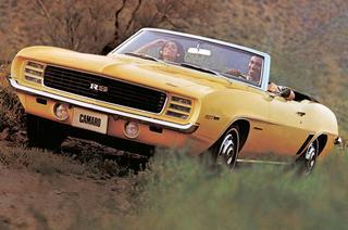 50 оттенков Chevrolet Camaro