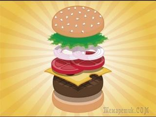 БУРГЕР - Рецепт восхитительного домашнего чизбургера
