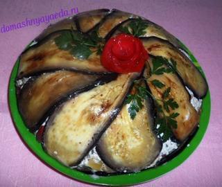 Королевская закуска - баклажанный террин