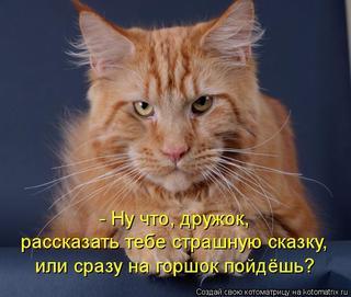 Свежие кошкоматрицы;)