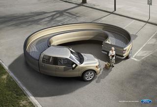 Лучшая реклама автомобиля