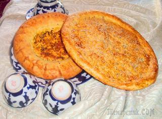 Домашние вкусные узбекские лепешки без дрожжей!!