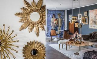 Эклектичный и прекрасный дом для мамы и дочки в Швеции