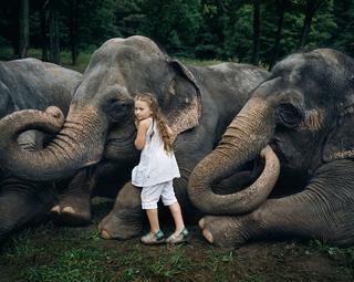 15 трогательных и крепких отношений между малышами и их четвероногими друзьями