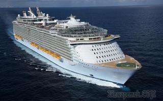 Самые большие круизные лайнеры в мире