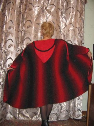 Вязание объемных вещей по принципу шарфа.
