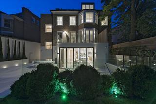 Четырехэтажный дом в Лондоне