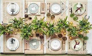 Красивые детали для сервировки стола: 20+ идей и 10 мастер-классов