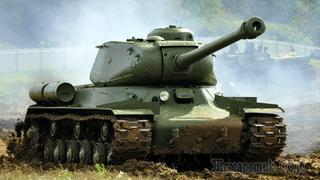 ИС-2 - боевое применение танка