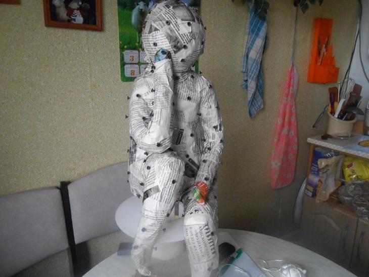 Садовые скульптуры из гипса своими руками мастер класс 310