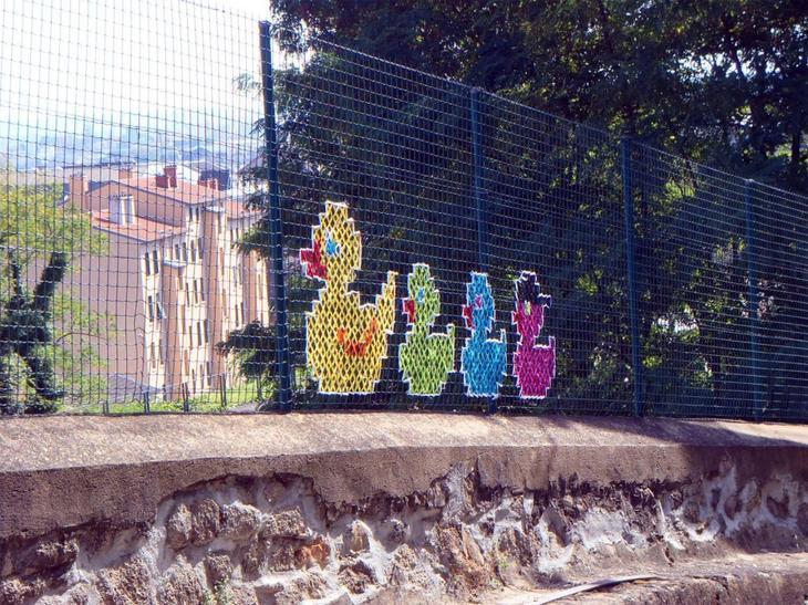 Вышивка крестиком на заборе вышивка, заборы