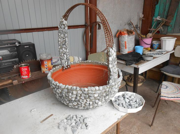 Изготовление горшков для цветов