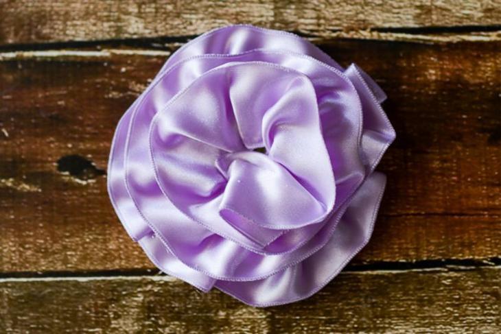 Как сделать большую розу из бумаги