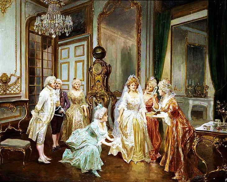 Русская свадьба художник