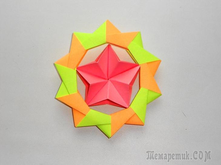 Поделки к 23 февраля оригами своими руками страна мастеров