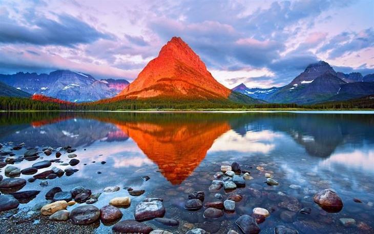 8. Гора из начос красота, удивительное рядом, фото, фотошоп