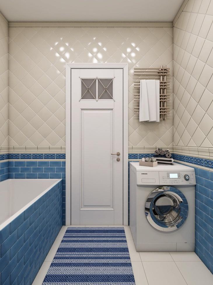 Дизайн ванной 1.5 на 1.5
