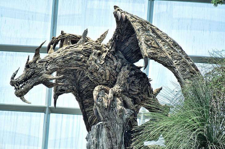 2.  дерево, своими руками, скульптура, факты