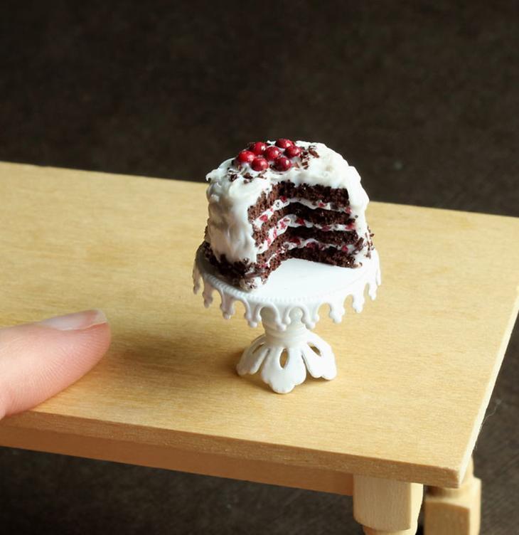 Эти мини-скульптуры из глины так похожи на настоящую еду, что слюнки текут (26 фото)
