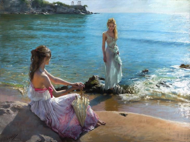 15 лучезарных картин, наполненных любовью к женщине