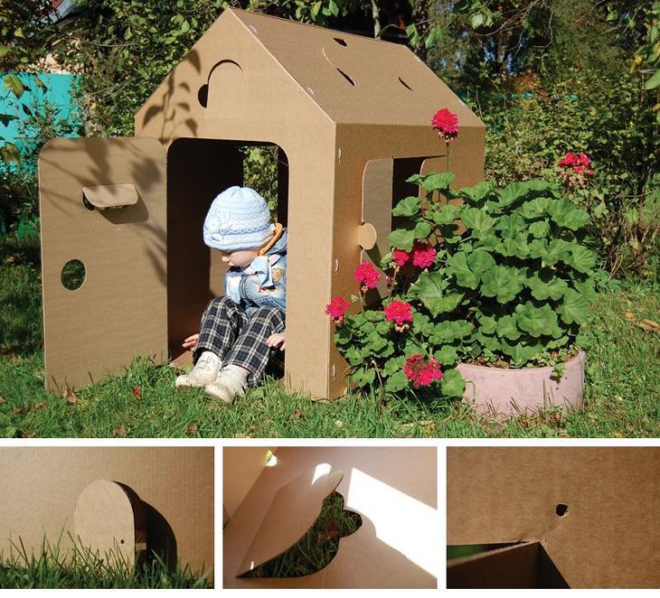Как построить домик для девочки своими руками 46