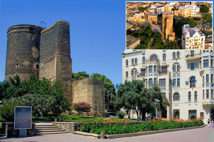 Девичья Башня - одна из самых известных достопримечательностей Азербайджана