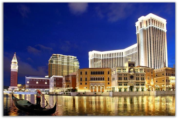 Венецианское казино в Макао. Удивительные отели мира. Фото