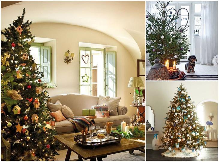 Новогодняя елка в квартире