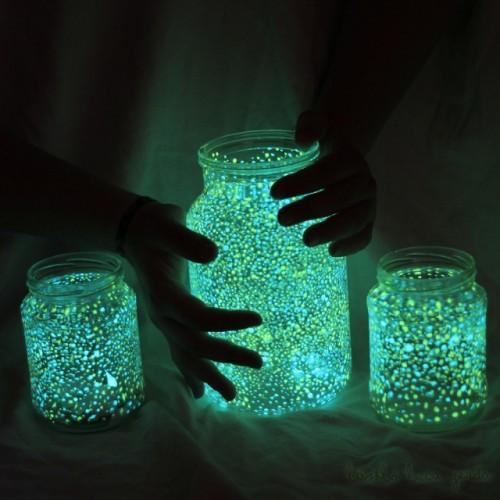 Светящиеся банки своими руками