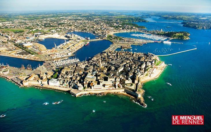 Удивительный город Сен-Мало  Сен-Мало, в мире, город