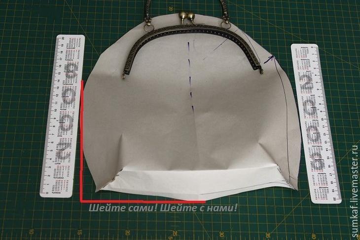 Как сшить нарядную сумочку
