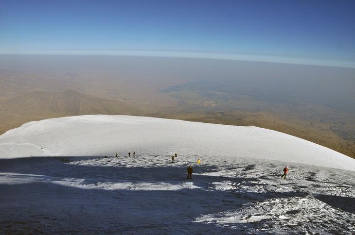 восхождение на гору Арарат фото
