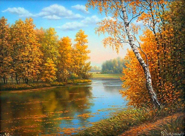 Прекрасные , теплые, светлые, солнечные пейзажи !