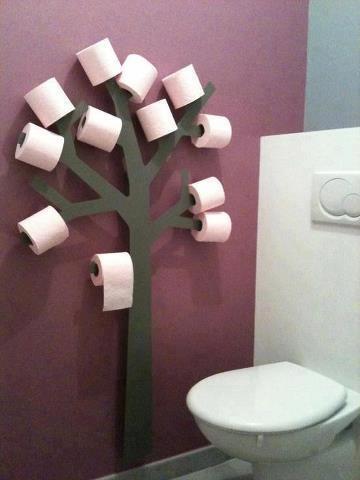 Украшение для туалета своими руками 1