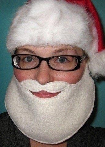 Борода дед мороз своими руками