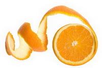 Применение апельсиновой кожуры для отбеливания зубов