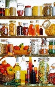 Декоративные бутылки для украшения кухни