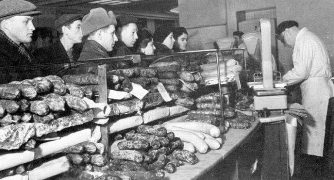 Будни советской торговли (6 фото)